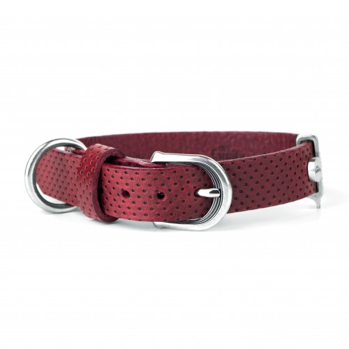 Monza Dog Collar Red
